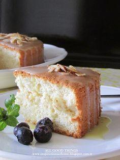 ANGEL FOOD CAKE http://inspirationsathome.blogspot.com.tr/
