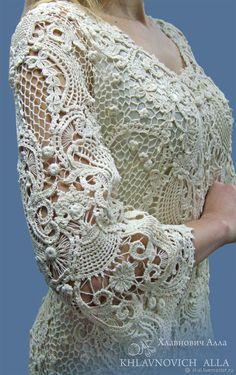 Fabulous Crochet a Little Black Crochet Dress Ideas. Georgeous Crochet a Little Black Crochet Dress Ideas. Freeform Crochet, Irish Crochet, Crochet Stitches, Crochet Patterns, Antique Lace, Vintage Lace, Crochet Flowers, Crochet Lace, Rose Shabby Chic