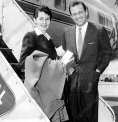 William Holden and his wife Brenda Marshall 1950's