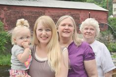 Generations of blue eyes and blonde hair, all about genetics!
