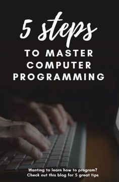 Ever wanted to learn how to write computer programs? With these 5 tips you can learn how to write code using any programming language.