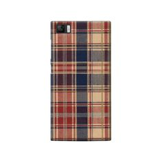Hipster Plaid Xiaomi Mi3 Case from Cyankart