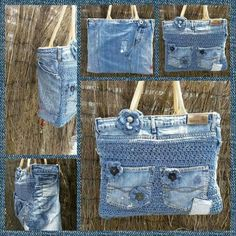 Jeans and crochet