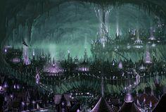 Menzoberranzan   Dark Cave City
