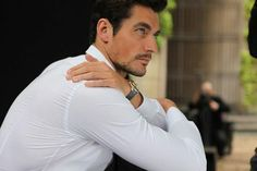 Behind the scenes with Mariano Vivanco for the Dolce & Gabbana Watches Campaign Model: David Gandy