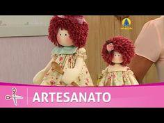 Vida com Arte   Boneca Anjo por Mônica Lixandrão - 24 de Outubro de 2016 - YouTube