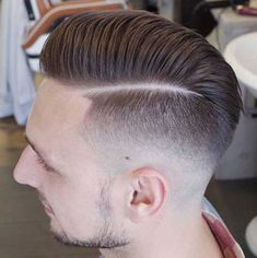 There are many fashionable ways to wear a comb over fade haircut. Because a comb over is a versatile, trendy hairstyle, it is perfect for all hair types. Mens Hairstyles Round Face, Hairstyles Haircuts, Haircuts For Men, Cool Hairstyles, Hairstyle Man, Trendy Haircuts, Modern Haircuts, Wedding Hairstyles, Comb Over Fade Haircut
