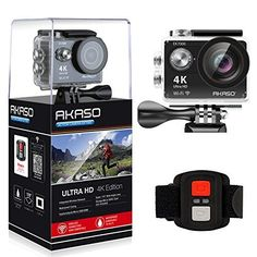 AKASO EK7000 4K WIFI Sports Action Camera Ultra HD Waterproof DV Camcorder...