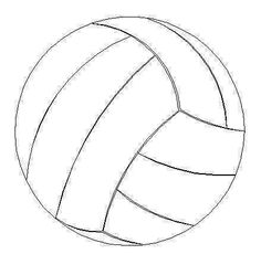 volleyball templates