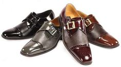 We have a great pairs of black dress shoes. Buy mens black casual shoes, mens black casual dress shoes, mens shiny black dress shoes, mens black tuxedo shoes at unbeatable prices. Burgundy Shoes Men, Black Casual Shoes, Black Dress Shoes, Leather Dress Shoes, Tuxedo Shoes, Purple Suits, Wingtip Shoes, Formal Shoes For Men, Shades Of Black