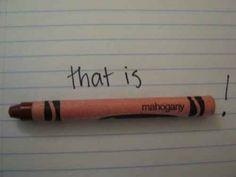 Hunger Games 'That is Mahogany!'-Effie Trinket
