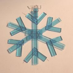 Let it Snow! Fused Glass Snowflakes | Glass Art by Margot ...