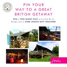 Take part in our Great British getaway competition with A Little Bit of Rough.