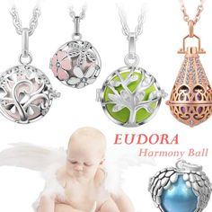 Jewelry Mexican Bola Angel Caller Harmony Ball Ringing Chime Necklace 5 Style