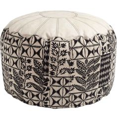 Arrowroot Moroccan Pouf...for extra lounging perhaps under the bench or under the window...#DreamRobshaw