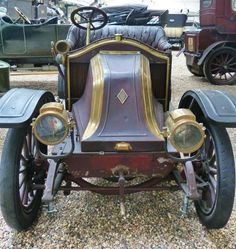 Renault AX - 1909 - Vintage car at the National Technical Museum of Prague… Vintage Cars, Antique Cars, Cool Cars, Mustangs, Czech Republic, Gallery, Vehicles, Trucks, Face