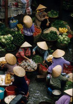 Marketplace, Dalat, Vietnam, 1995