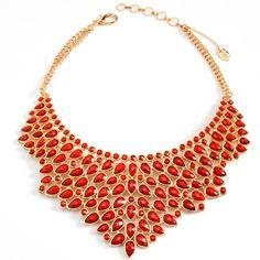 bib statement necklace // amrita singh