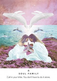 Work your light oracle ~Soul Family ~ its is time to call in your soul family and support team. People who get you at soul level. People who are the same kind of weird as you. People who are your chosen family. They are coming and they are looking for you.