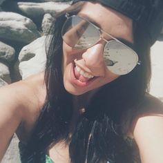 beach photo Instagram photos beach life aviator cap bikini selfies Beach. Sun. Ocean. Fun. Family. Heaven. 😇🌴 #beachlife #heavenonearth