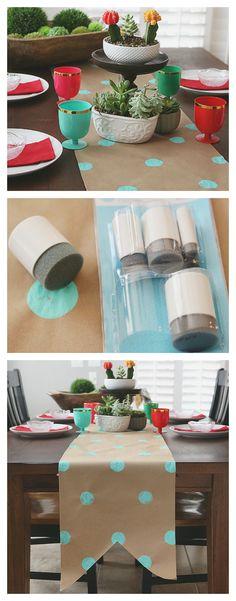 Kraft Paper Table Ru