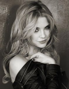 Ashley Benson. I want her hair!