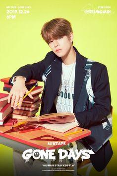 """Mixtape: """"Gone Day's"""" - Teaser Images (Stray Kids) Mixtape, Gone Days, Stray Kids Seungmin, Kids Wallpaper, Latest Albums, Lee Know, Lee Min Ho, Minho, K Idols"""