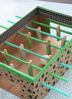 Cardboard Easy Paper Crafts for Kids - art and craft with cardboard - easy cardboard box crafts - maze from cardboard box crafts Cardboard Box Crafts, Paper Crafts For Kids, Diy For Kids, Paper Crafting, Cardboard Box Ideas For Kids, Cardboard Playhouse, Cardboard Castle, Cardboard Toys, Cardboard Furniture