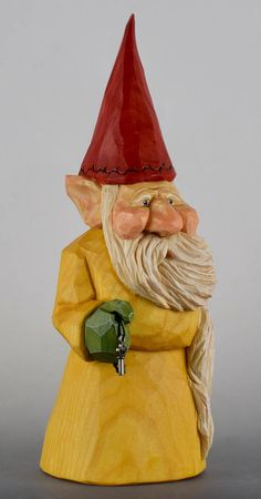 gnome elfnisse lutin Christmas Santa wood carving
