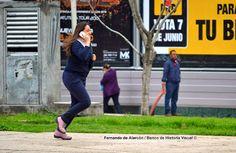Corriendo y hablando... / Running and talking...