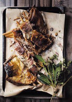 """""""In 'n wêreld vol onsekerheid het mieliepaptert my nog nooit teleurgestel nie. Dis 'n byna onfeilbare dis. Braai Recipes, Lamb Ribs, South African Recipes, Specialty Foods, Country Cooking, Grubs, Outdoor Cooking, Food To Make, Delish"""