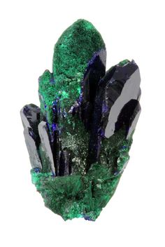 Azurite with Malachite from Mexico ❦ CRYSTALS ❦ semi precious stones ❦ Kristall  ❦ Minerals ❦  Cristales ❦