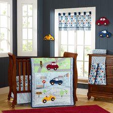 My Little Town 9 Piece Crib Bedding Set