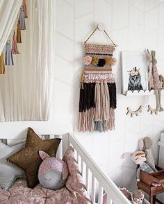 DIY Makramee für einen Hauch Boho im MÄdchen-Kinderzimmer