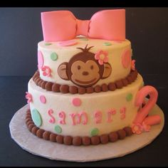 My little girl's 2nd Birthday cake!