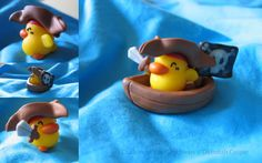Fimo Duckies of the Caribbean