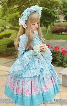 Romantic Rose Letter by Angelic Pretty, one of my dream dresses~