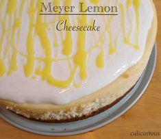 Meyer Lemon Cheesecake Recipe