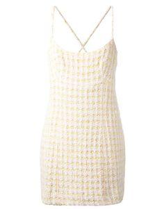 Vintage Chanel Tweed Dress #fashion #style