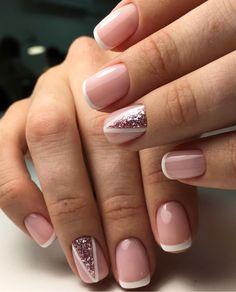 Shellac Nails, Nail Polish, Pretty Nail Designs, Elegant Nails, Wedding Nails, Pretty Nails, Hair And Nails, Hair Makeup, Hair Beauty