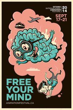2014 Ottawa International Animation Festival: Free your mind, 3