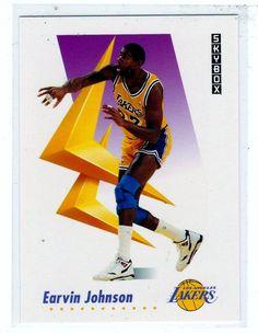 b9f9dcbf5294 Sports Cards Basketball - 1991 Skybox Earvin Johnson