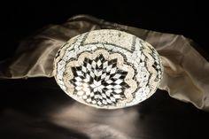Oval mosaic lamp 30 cm - Mosaic Lamp, Mosaic Turkish Lamps, Moroccon lamp Turkish Lights, Turkish Lamps, Moroccan Lamp, Hotel Decor, Light Table, Pendant Lamp, Fashion Art, Lanterns, Glass Art
