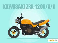 Alles über die Kawasaki ZRX 1200/S/R | markt.de #Kawasaki #Kawa #ZRX1200 #motorrad