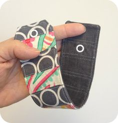 Backless Shirt: A Scrap-tastic Fabric Cuff - a quick & easy project!