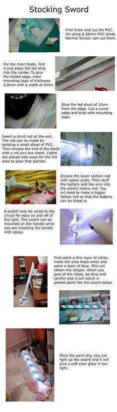 Props: Stocking Glowing Sword by zerartul.deviantart.com on @deviantART