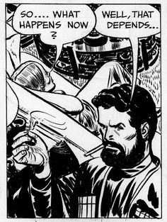Terry and the Pirates...Milton Caniff