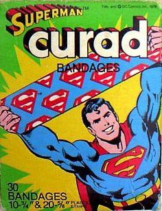 Superman Curad Bandages