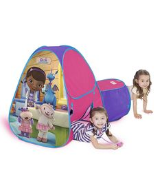 Look at this Doc McStuffins Hide-About Tent on #zulily today!