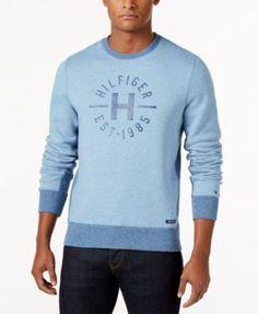 TOMMY HILFIGER Tommy Hilfiger Men S Chad Fleece Sweatshirt.  tommyhilfiger   cloth   sweaters Coron e880bbbe5